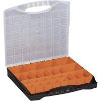 Box na součástky Alutec 56120, 400 x 370 x 58 mm, černá