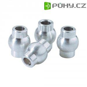 Hliníkové kuličky kloubů Reely 7 x 9 mm, otvor 3 mm (V211301)