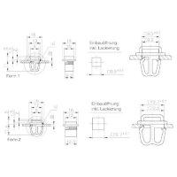 Sokl PB Fastener 1070-SL-30-127