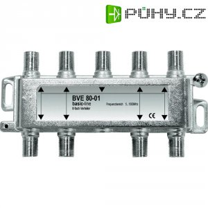 Anténní rozbočovač, 5 - 1000 MHz, 8násobný