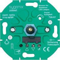 Stmívač série SX.11 pro LED lampy Sygonix, 33594C LED, 7 - 110 W
