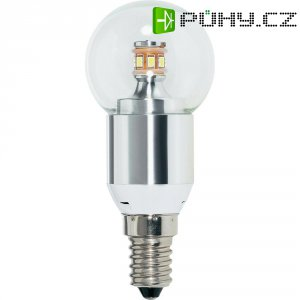 LED žárovka Renkforce E14, 3,6 W = 25 W, čirá, studená bílá