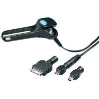 Nabíjecí kabel do autozásuvky 4v1 ProCar, 12/24 V ⇔ 5 V, 1 A