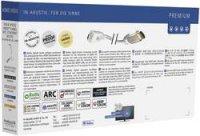 HDMI kabel s eth. vidlice mikro HDMI typ D ⇒ vidlice HDMI, 1,5 m, černý, Inakustik