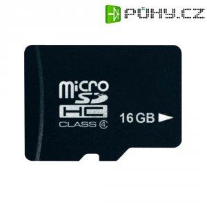 Pamětová karta microSDHC Platinum 16GB, Class 4
