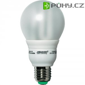 Úsporná žárovka kulatá MegamanDorS Classic E27, 15 W, superteplá bílá