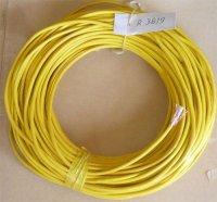 Kabel mikrofonní ohebný OFC 2x žlutý, balení 75m použitý