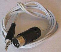 Kabel DIN5 - Jack 3,5 stereo, 1,3m