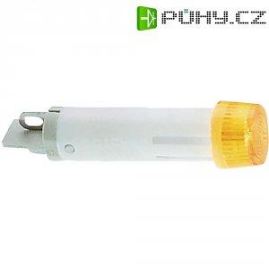 Signálka RAFI, 230 V, žlutá (transparentní), 7 mm, kulatá