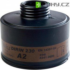 Plynový filtr do plynové masky Ekastu Sekur DIRIN 230 A2, 422 761