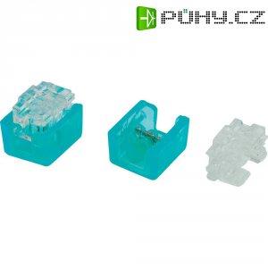 Svorka, SJT6, 0,13 - 0,38 mm², 2pólová, světle modrá, 100 kusů