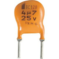 Radiální kondenzátor ELKO řada 128 175° 1,0u 25V