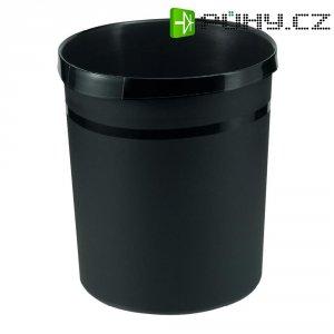 Koš na papír, černý, 18 litrů