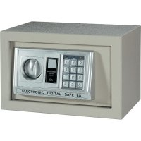 Elektronický trezor 20EA, na heslo, (š x v x h) 310 x 200 x 200 mm, šedá