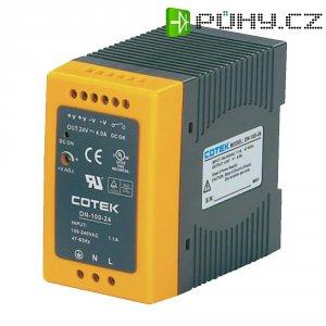 Napájecí zdroj na DIN lištu Cotek DN 100-48, 2 A, 48 V/DC