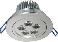Podhledové světlo LED 5x1W,bílé teplé, 230V/5W