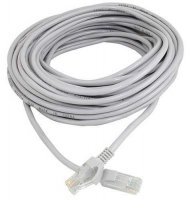 UTP kabel Patch RJ45 20m šedý cat5e