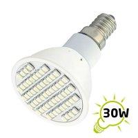 Žárovka LED E14/230V (60SMD) 3W - bílá teplá