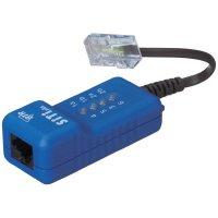 ISDN tester BTR Netcom SiTi Plus Metz Connect, 5cm kabel