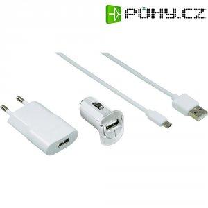 Sada USB nabíječek HAMA Picco,bílá