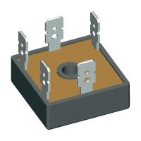 Můstkový usměrňovač IXYS VUO36-16NO8, U(RRM) 1600 V, 27 A, FO-B