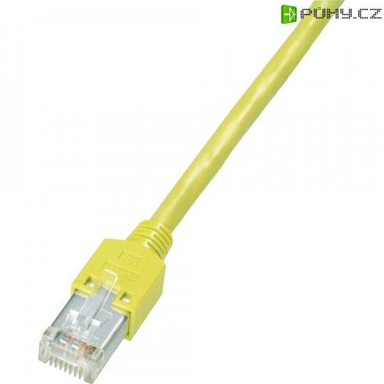 Patch kabel Dätwyler CAT 5e S/ UTP, 1 m, žlutá - Kliknutím na obrázek zavřete