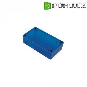 Univerzální pouzdro ABS Hammond Electronics 1591XXATBU, 100 x 51 x 25 , modrá (transparentní)