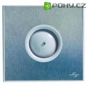 Vestavný ventilátor Protector PROAIR Hygro, 230 V, 75 m3/h, 14 x 15 cm, kartáčovaná nerezová ocel