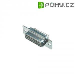 D-SUB zásuvková lišta Assmann A-HDF 15 LL/Z, 15 pin