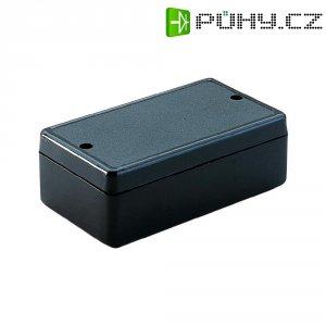 Plastové pouzdro Strapubox, (d x š x v) 80 x 45 x 26 mm, černá