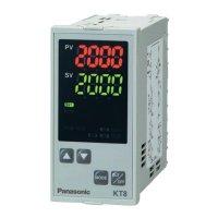 Panelový termostat Panasonic KT8, 240 V/AC, relé