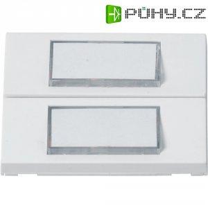 Zvonková deska Heidemann 70057 , 2 tlačítka, podsvítitelná, max. 24 V/1 A, bílá