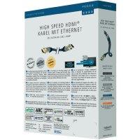 HDMI kabel s ethernetem, 8 m, černý, Inakustik
