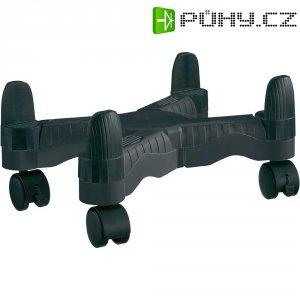 Pojízdný PC věžový stojan Renkforce černá 50263C2A