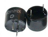 Piezobzučák HCM1212X, 12mm,napájení 8-15V/30mA