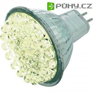 LED žárovka Basetech, 8632C4f, GU5.3, 1,6 W, 12 V, teplá bílá
