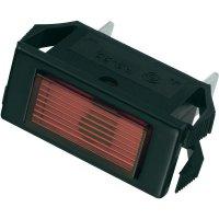 Signálka SCI, 24 V/DC, 23,9 mm, obdélníková, červená