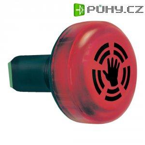Vestavný bzučák s LED Werma 450.100.55, 24 V/DC, IP65, červená