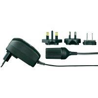 Síťový adaptér s konektorem do auta Voltcraft FPPS 12-12WPC, 12 V/DC, 12 W