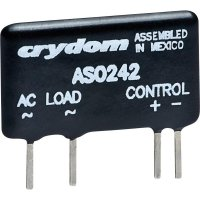 Elektronické zátěžové relé SIL 2 A Crydom AS0242