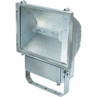 Halogenový reflektor Brennenstuhl HDL 400, E40, 400 W, IP55, stříbrná
