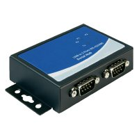 Sériový adaptér Delock USB 2.0, 2 x RS-422/485, černý