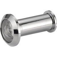 Dveřní kukátko 155°, 35 mm, chrom