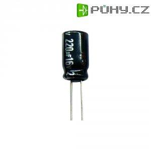 Kondenzátor elektrolytický Panasonic ECA1VHG221B, 220 µF, 35 V, 20 %, 11,5 x 8 mm