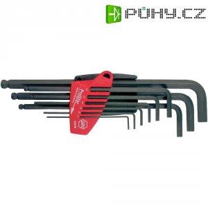 Sada imbusových klíčů s kulovou hlavou Wiha 07193, 1,5 - 10 mm, 9 ks