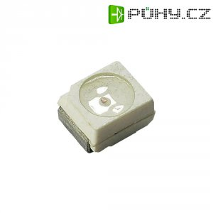 SMD LED PLCC2 Dominant Semiconductors, DDA-CJS-RS2-1, 30 mA, 2,3 V, 120 °, 285 mcd, jantarov