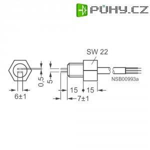 2pólová elektroda 3UG3207-2B pro Siemens 3UG4502, 3 x 0,5 mm², 2 m