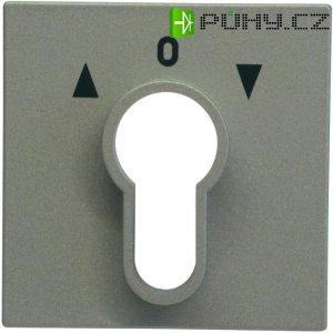 Krytka zámkového spínače Gira, standard 55, hliník (066426)