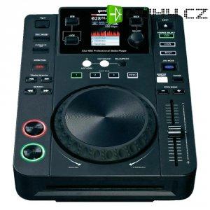 CD/MP3 přehrávač médií Gemini CDJ-650