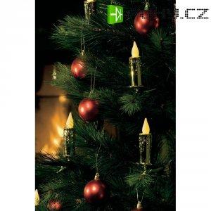 Osvětlení na vánoční stromek Konstsmide 10 LED, DO, zlatá